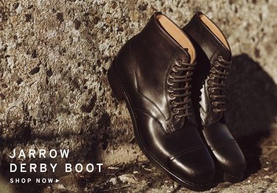 Jarrow mens Derby Boot | Shop Now