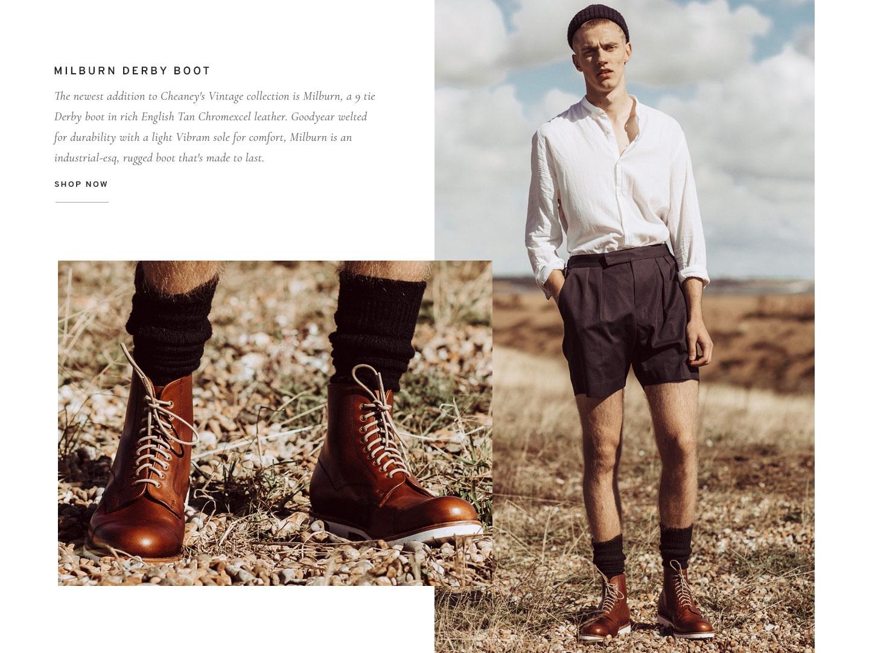 Milburn Men's Derby Boot