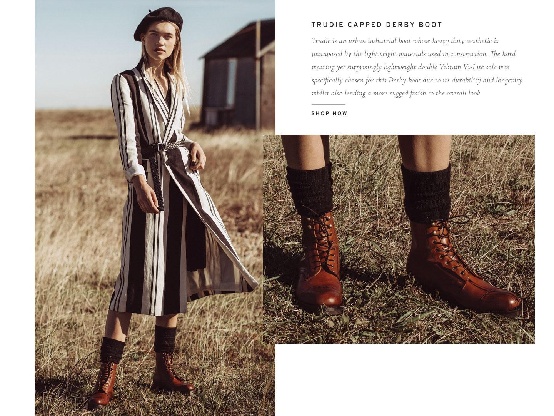 Trudie Derby Boot | Shop Now