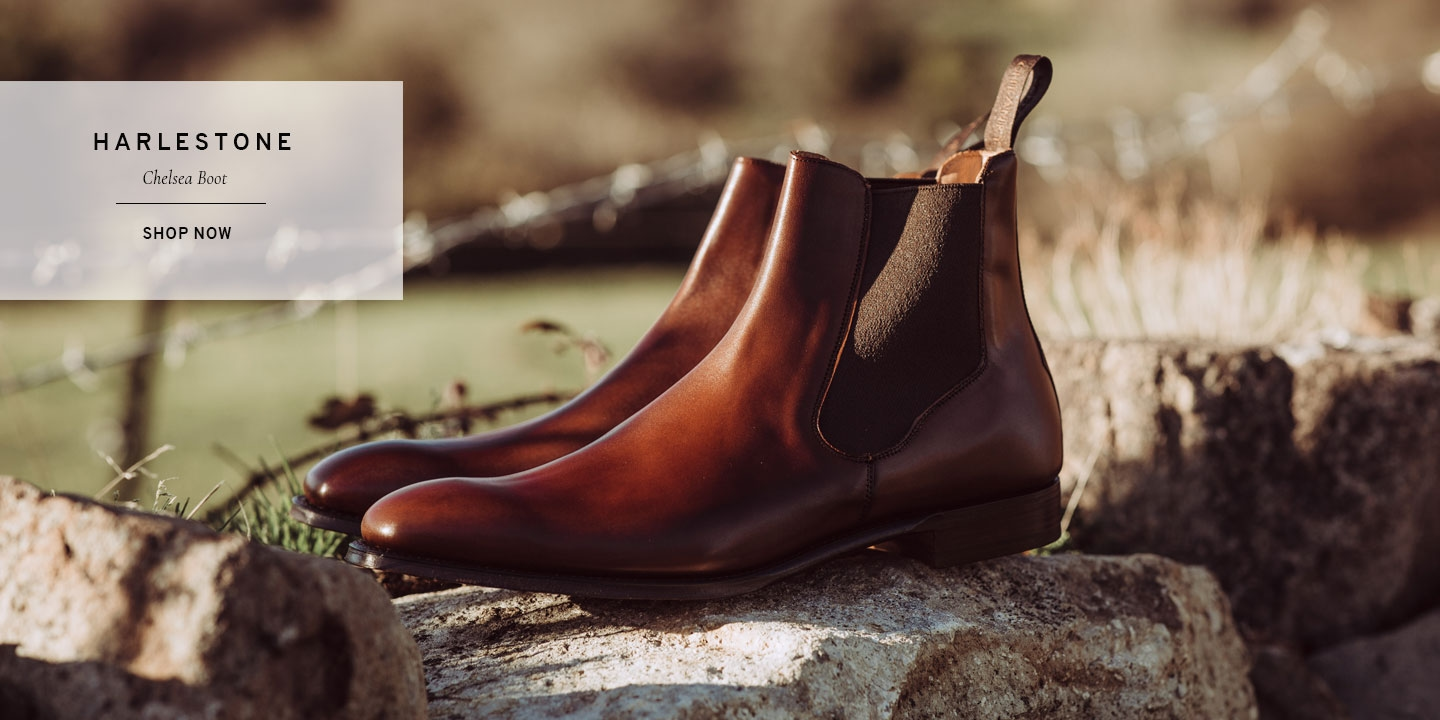 Harlestone Chelsea Boot in Dark Leaf | Shop Now