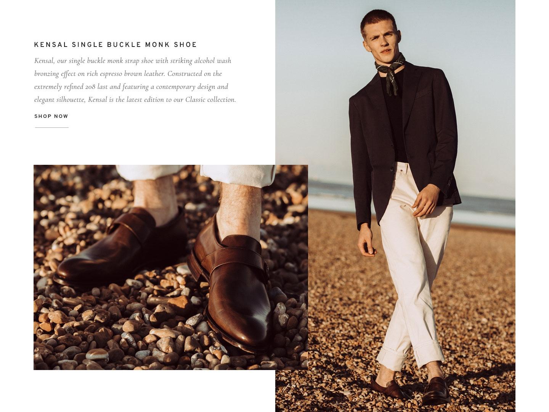 Kensal Single Buckle Monk Shoe