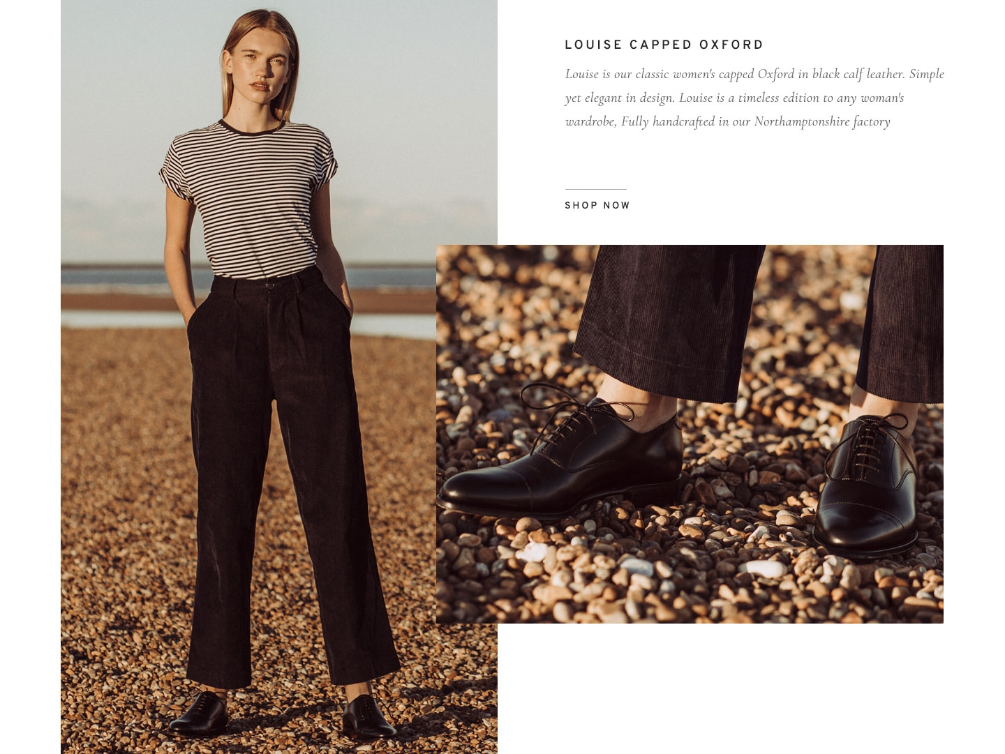 Louise Womens Capped Oxford | Shop Now