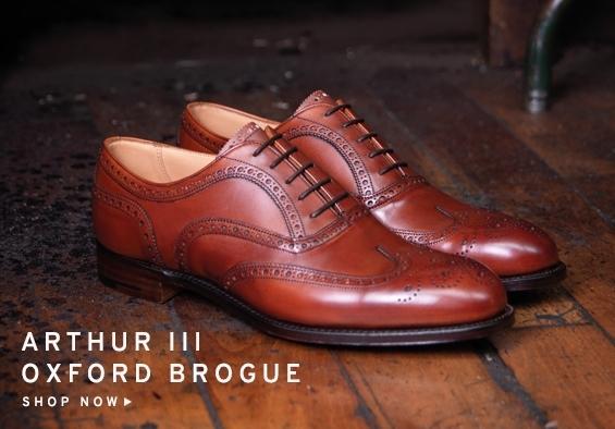 Arthur III Oxford Brogue | Shop Now