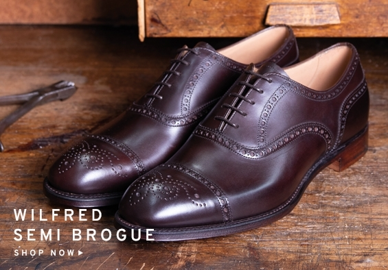 Wilfred Semi Brogue | Shop Now