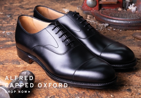 Alfred Capped Oxford | Shop Now
