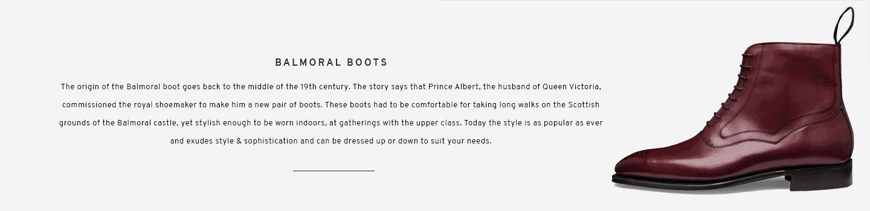 Balmoral Boots | Hanover Burgundy