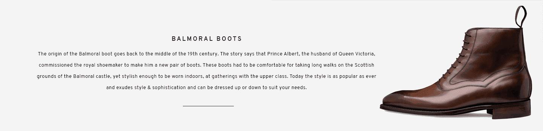 Balmoral Boots | Hanover Bronzed