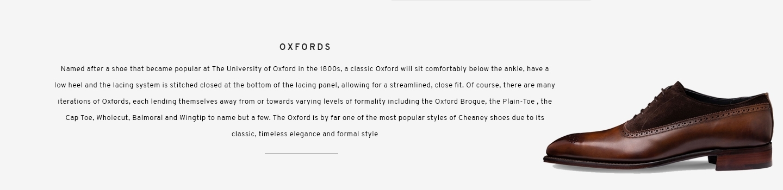 Oxfords | Lancaster Bronze