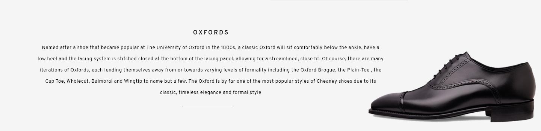 Oxfords | Windsor Black