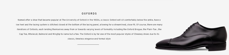 Oxfords | York Black