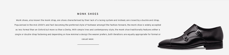 Monk Shoes   Tudor Black