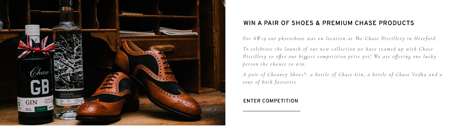 Win a pair of Shoes and Premium Chase Products | Enter Competition