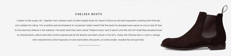 Chelsea Boots | Godfrey Bitter Chocolate