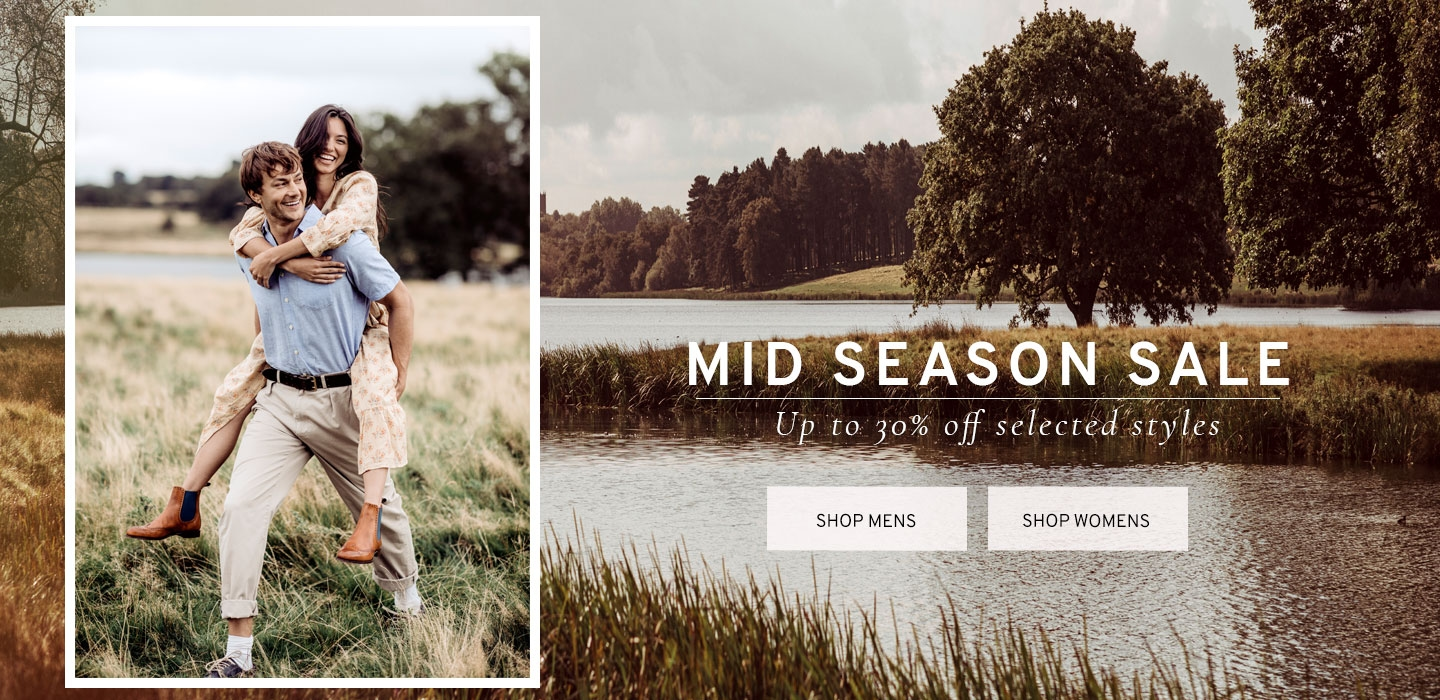 Mid Season Sale Up to 30% Off Selected Styles