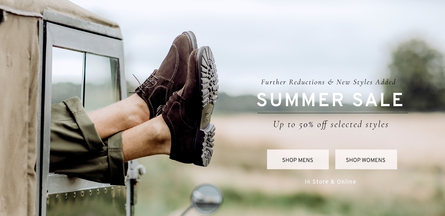 Summer Sale Up to 50% Off Selected Styles