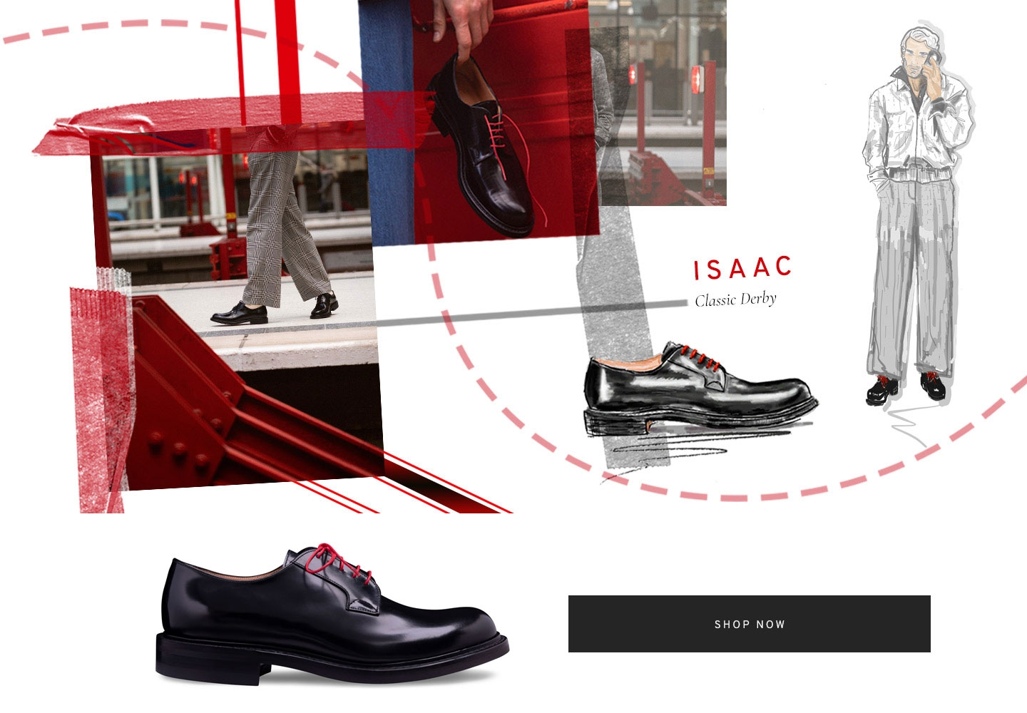 Isaac Classic Derby Shoe | Shop Now