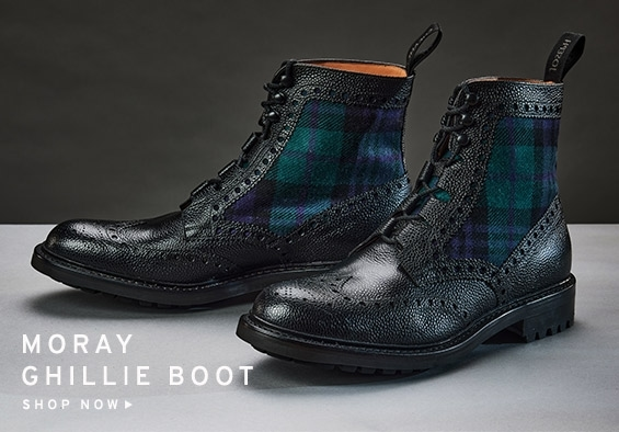 Moray Ghillie Brogue Boot | Shop Now