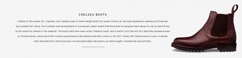 Brecon in Burgundy   Chelsea Boot