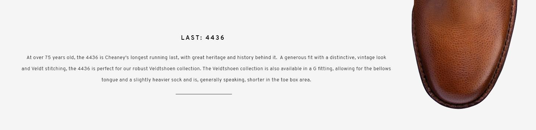 Brecon in Almond | Last 4436