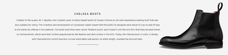 Albert in Black | Chelsea Boot