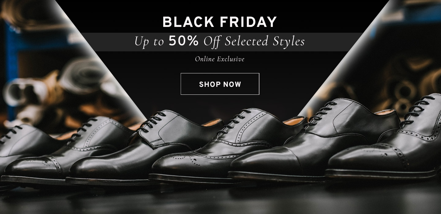 Black Friday | Up to 50% Off Selected Styles | Shop Now