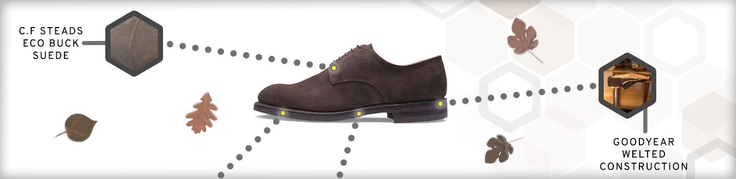 Dalby Oxford in Brown Eco Suede