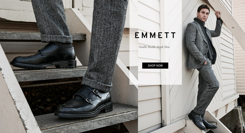 Emmett Double Buckle Monk Shoe | Shop Now