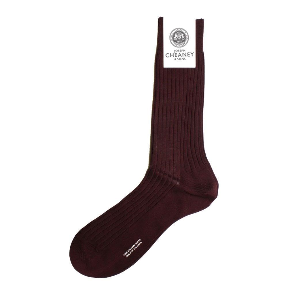 Pantherella Mens Danvers 5x3 Rib Fil d/'Ecosse Cotton Lisle Socks
